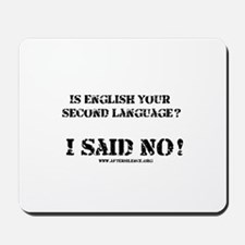 Second Language Mousepad