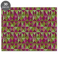 Everett Geometric Triangle Pattern Puzzle