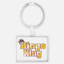 Bingo King Landscape Keychain