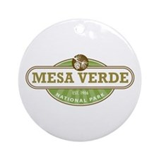 Mesa Verde National Park Ornament (Round)