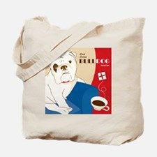World Famous Bulldog Brand Tea Tote Bag