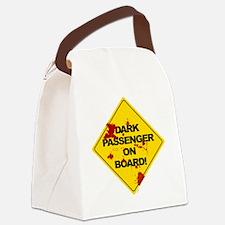 Dark Passenger On Board - blood Canvas Lunch Bag
