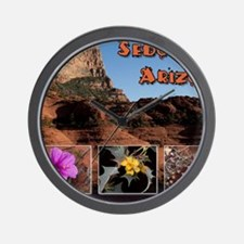 Sedona Arizona Combo Wall Clock