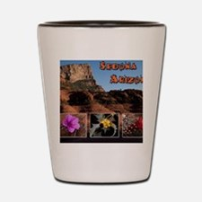 Sedona Arizona Combo Shot Glass