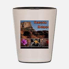 Sedona Arizona Combo Shot Glass