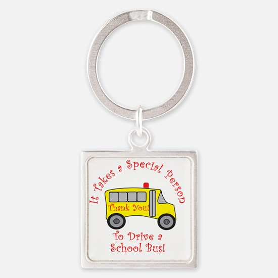 bus driver2 Square Keychain