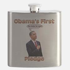 PledgeAllegianceWHITE Flask