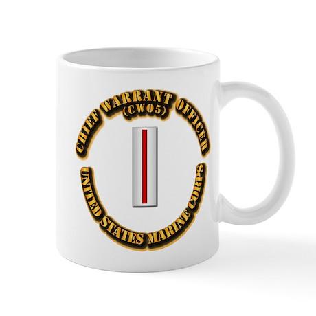 USMC - CW5 Mug