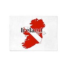 Ireland Diving 5'x7'Area Rug