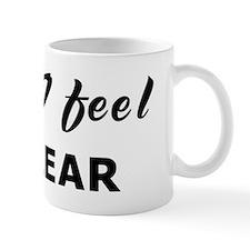 Today I feel unclear Coffee Mug