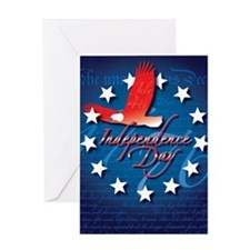 Independence Day Note Greeting Card