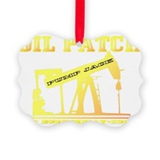 Oil Jack A4ab trsp Ornament