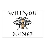 Will You Honeybee Mine Postcards (Package of 8)