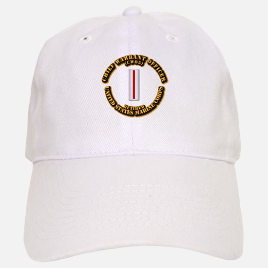 USMC - CW5 - Retired Baseball Baseball Cap