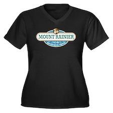 Mount Rainier National Park Plus Size T-Shirt