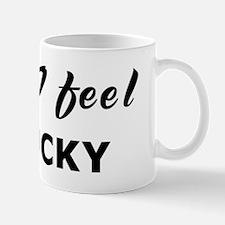 Today I feel unlucky Mug