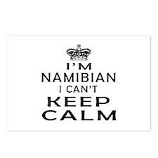 I Am Namibian I Can Not Keep Calm Postcards (Packa