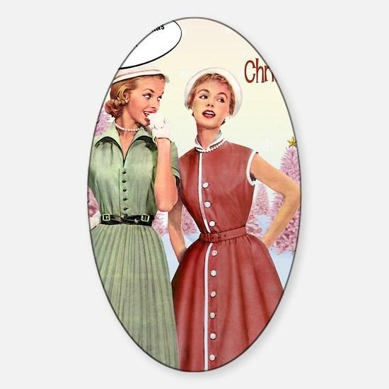 inside1 Sticker (Oval)