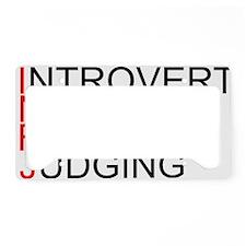 INFJ.gif License Plate Holder