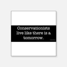 conservationists Sticker