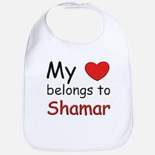 My heart belongs to shamar Bib