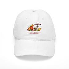 Thanksgiving Pugs and Pumpkins Baseball Cap