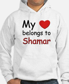 My heart belongs to shamar Hoodie