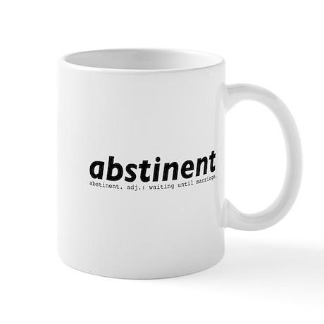 abstinent Lefty Mug
