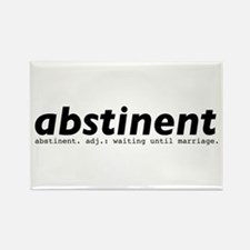 abstinent Rectangle Magnet