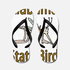 Alabama State Bird Flip Flops