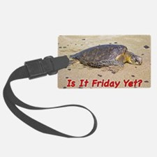 Fridayturtle Luggage Tag