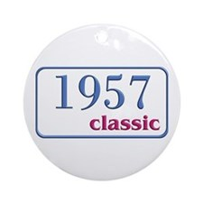 1957 Classic Ornament (Round)