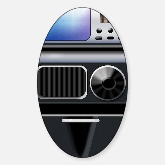 tricorder Sticker (Oval)