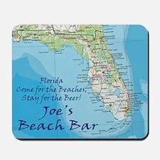 florida map Stay Joes Beach Bar Mousepad