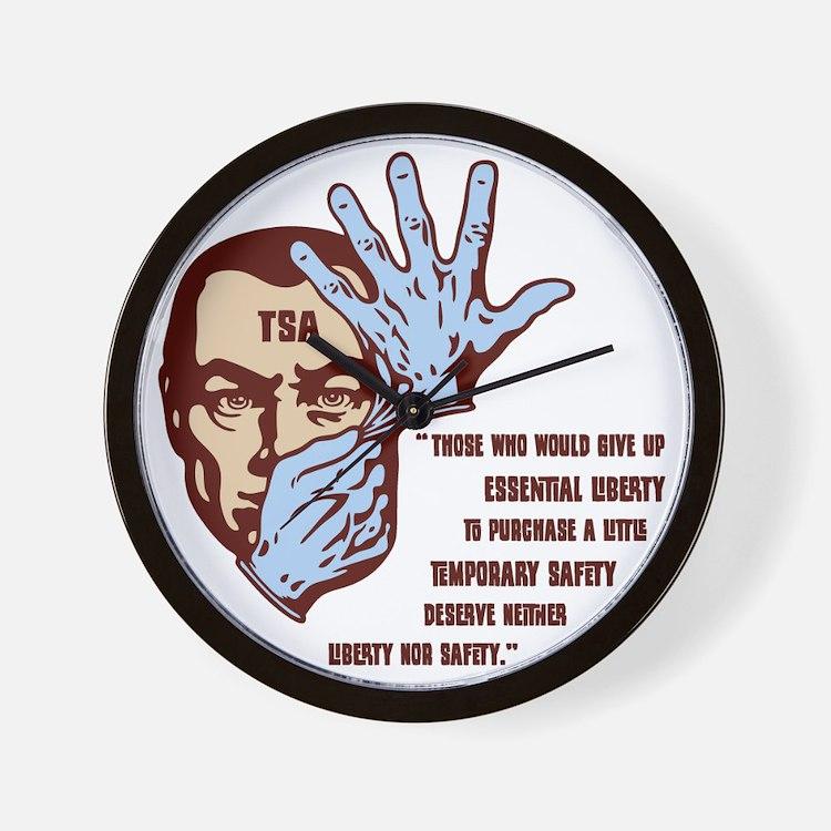 tsa-glove2-LTT Wall Clock