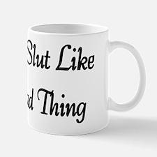 Slut Shirt Mug