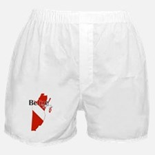 Belize Diving Boxer Shorts
