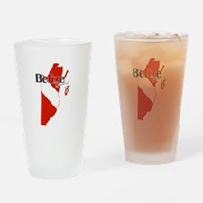 Belize Diving Drinking Glass