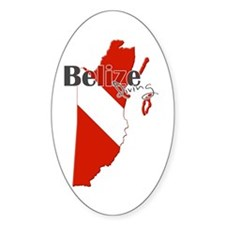 Belize Diving Decal