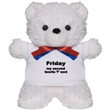 FRIDAY Teddy Bear