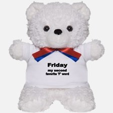 FRIDAY Teddy Bear