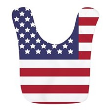 US Flag Test Bib