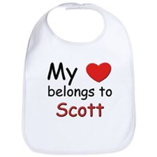 My heart belongs to scott Bib