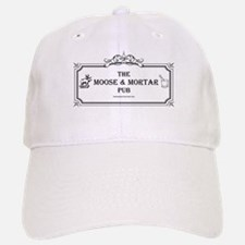 The Moose and Mortar Baseball Baseball Cap