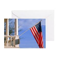 calendar american pride Greeting Card