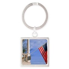 calendar american pride Square Keychain