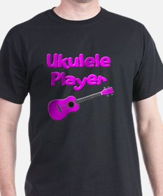 girls pink ukulele T-Shirt
