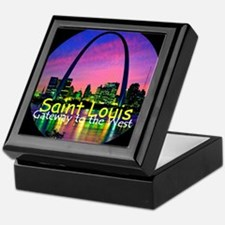 St Louis Keepsake Box