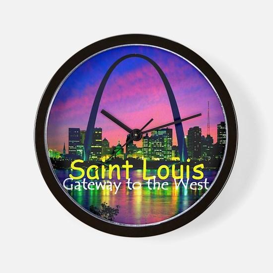 St Louis Wall Clock