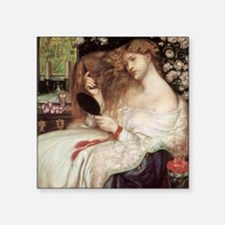 "Lady Lilith by Dante Rosset Square Sticker 3"" x 3"""